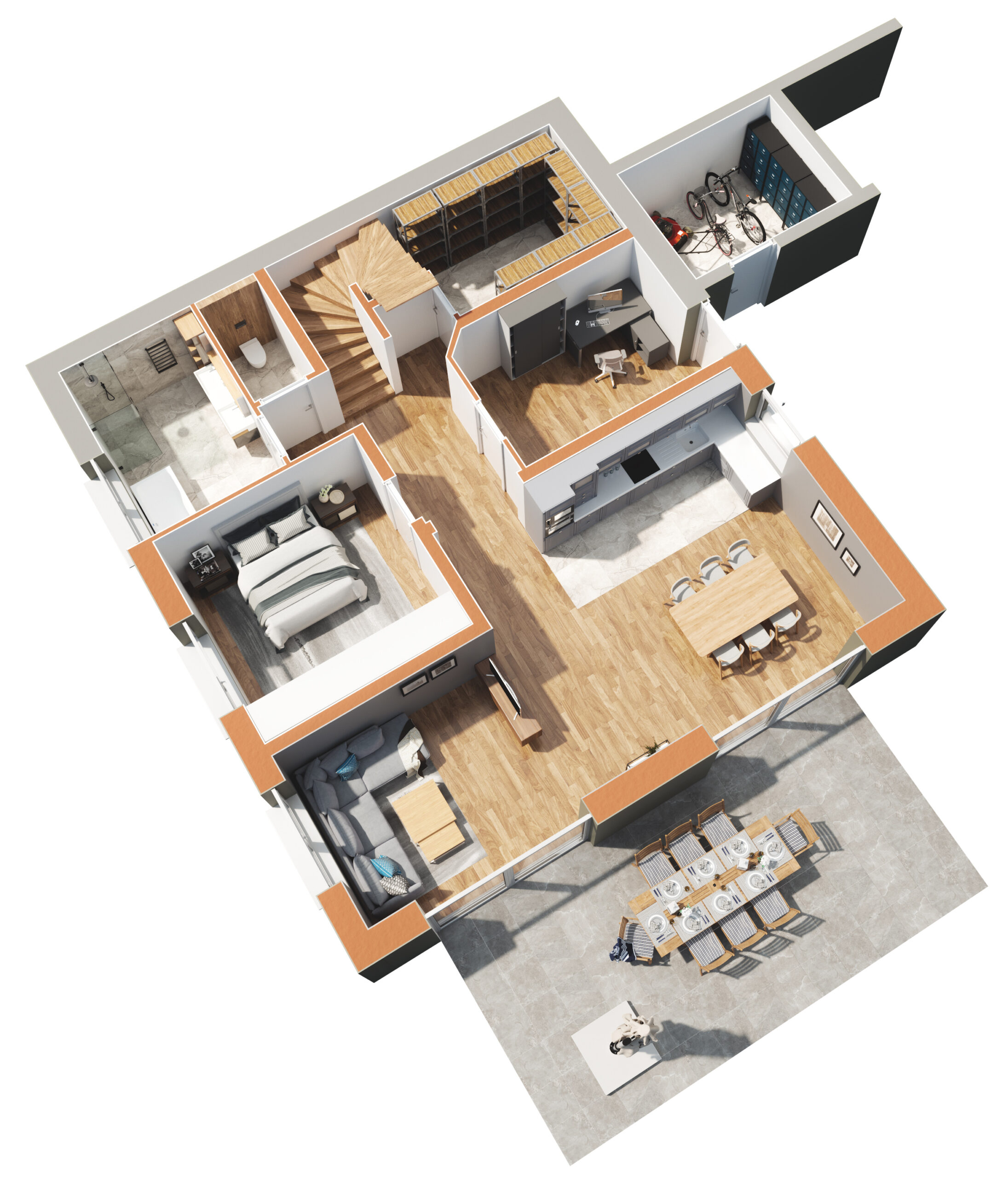 Haus 2 - Untergeschoss